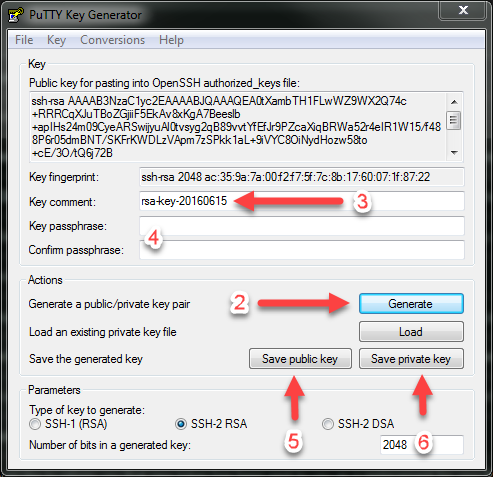 id_rsa private key file format