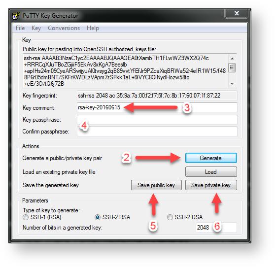 creating ssh key without passphrase
